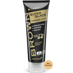 BROWN SUPER BLACK - TANNING LOTION