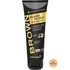 BROWN SUPER BLACK GOLD EDITION - TANNING LOTION