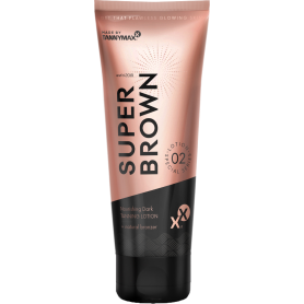 Super Brow Dark Tanning Lotion + Natural Bronzer